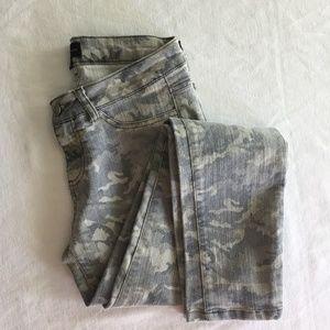 Denim - Camo Skinny Jeans